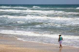 Texas heeft een hele lange kust in de Gulf of Mexico. Als u in de buurt bent, geniet van een wandeling over de mooie zandstranden.