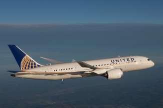 United Airlines gebruikt ook de Dreamliner vliegtuigen naar Houston!