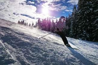 Verken het uitgestrekte skigebied op verschillende manieren