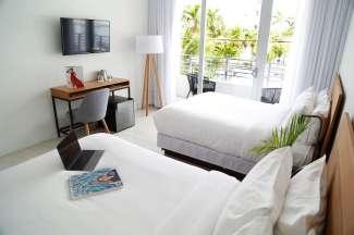 Kamer in het Urbanica hotel Miami