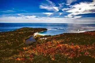 De staat Maine in Oost Amerika heeft geweldige kustlijnen