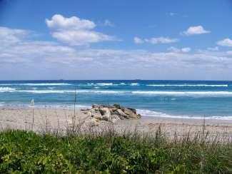 Stranden van West Palm Beach