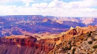 De Grand Canyon in de staat Arizona was een van de eerste Nationale Parken van de Verenigde Staten.