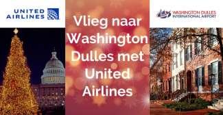 Vlieg naar Washington Dulles met United Airlines
