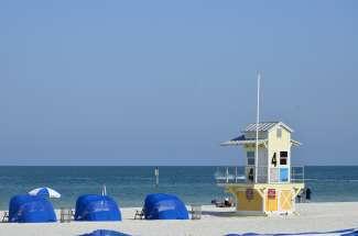 Witte stranden aan de Golfkust