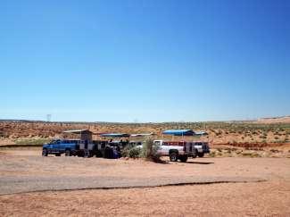 U kunt Antelope Canyon alleen met een gids bezoeken.