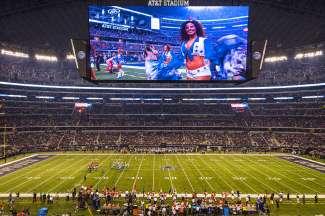 De Dallas Cowboys Cheerleaders zijn een van de beste ter wereld.