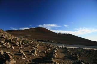 Saddle Road leidt u naar Mauna Kea