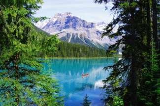 Banff NP is een populair park in het westen van Canada.