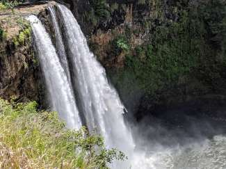 Op het eiland Kauai treft u talrijke watervallen aan