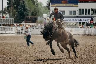 Dit zijn de Cheyenne Frontier Days in Cheyenne, WY.