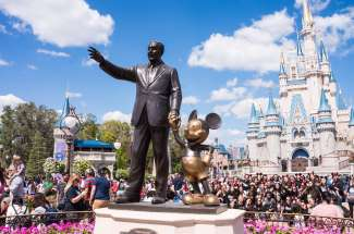 Disney World is het grootste en meest bezochte amusementspark van Florida.