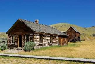 Een reis naar het verleden behoort ook tot de mogelijkheden in Montana.