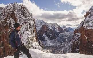 Geniet van de winter in Zion door te wandelen, fotograferen en het zien van dieren in het wild.