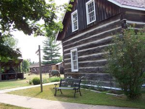Champlain Trail Pioneer Village