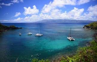 Honolua Bay aan de noordwestkust van Maui is een van de populairste snorkelspots van Maui