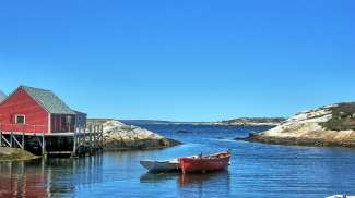 Peggy's Cove in Atlantisch Canada