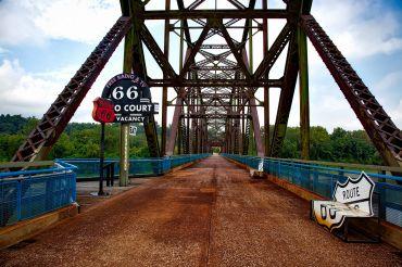 Chain of Rocks Bridge Missouri
