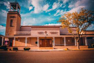 Typerende New Mexico bouwstijl