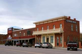 Een kleine plaats in South Dakota.