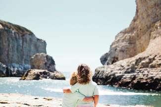 Rotsformaties en kusten die indruk maken op het hele gezin.