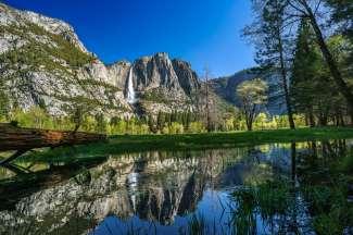 Yosemite NP is een waar wandelparadijs en een populair Nationaal park in Californië.