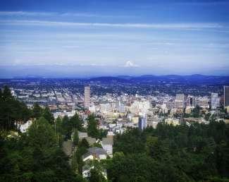 Portland is de grootste stad van Oregon.