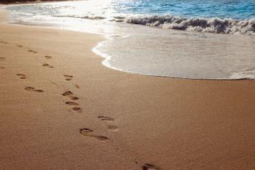 Relaxen aan het strand van Hawaii