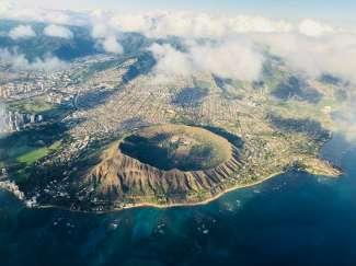 Diamond Head is het meest bekende nationale park van Hawaii