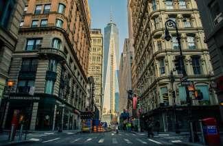 Het One World Trade Center is het hoogste gebouw van Amerika.