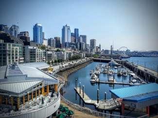 Seattle ligt in de staat Washington en wordt vaak gecombineerd met een rondreis door West-Canada.