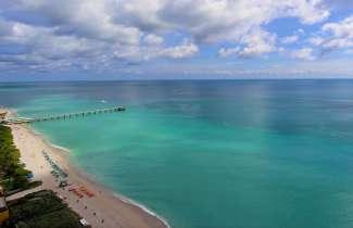 Sunny Isles Beach ligt in het noorden van Miami.