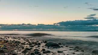 Rathtrevor Beach ligt in Rathtrevor Beach Provincial Park en is de ideale bestemming voor een familievakantie.