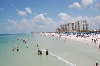 Clearwater Beach is meerdere keren uitgeroepen tot het beste strand van de VS.