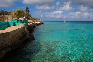 Bonaire heeft  een azuurblauwe zee, prachtige koralen en is dan ook een geliefde snorkel- en duikplek.