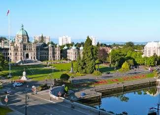 In de stad Victoria op Vancouver Island vindt u nog veel Britse invloeden terug.