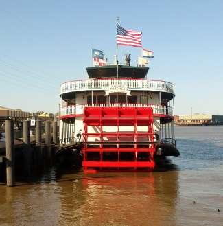 Stap aan boord van de fameuze raderboot voor de ultieme Mississippi River ervaring!