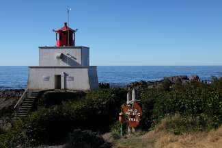 Amphitrite Point Lighthouse Ucluelet