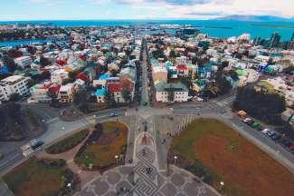 Reykjavik is de hoofdstad van IJsland gelegen in het zuidwesten van IJsland.