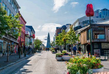 Centrum van Reykjavik