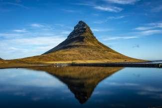 Deze 463 meter hoge berg vindt u aan de noordkust van het  Snæfellsnes-schiereiland