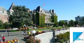 In Victoria op Vancouver Island vindt u nog veel Britse invloeden terug.