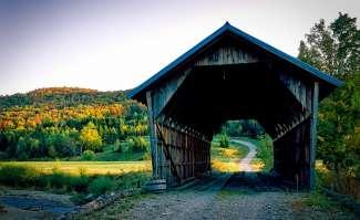 Vermont is de kleinste staat van de New England regio.