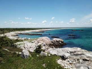 Een deel van het nationale park ligt ook aan de kust van Nova Scotia.