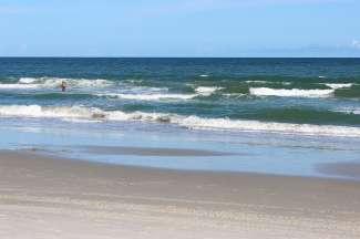 Myrtle Beach biedt heerlijke stranden, daarnaast kunt u vanaf een boot genieten van de prachtige kustlijn.