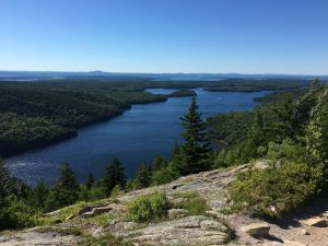 Viewpoint in Acadia National Park