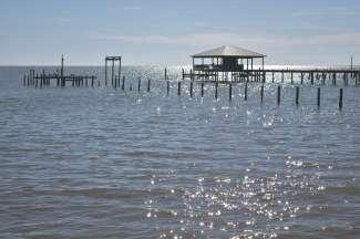 Maak een omweg naar de baai - Mobile Bay.