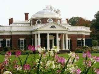 Oude woning van Thomas Jefferson