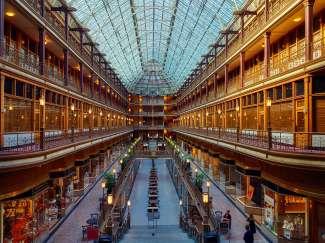 Arcade, het overdekte winkelcentrum