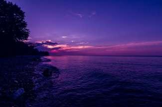 Cleveland ligt aan het Eriemeer (Lake Erie)